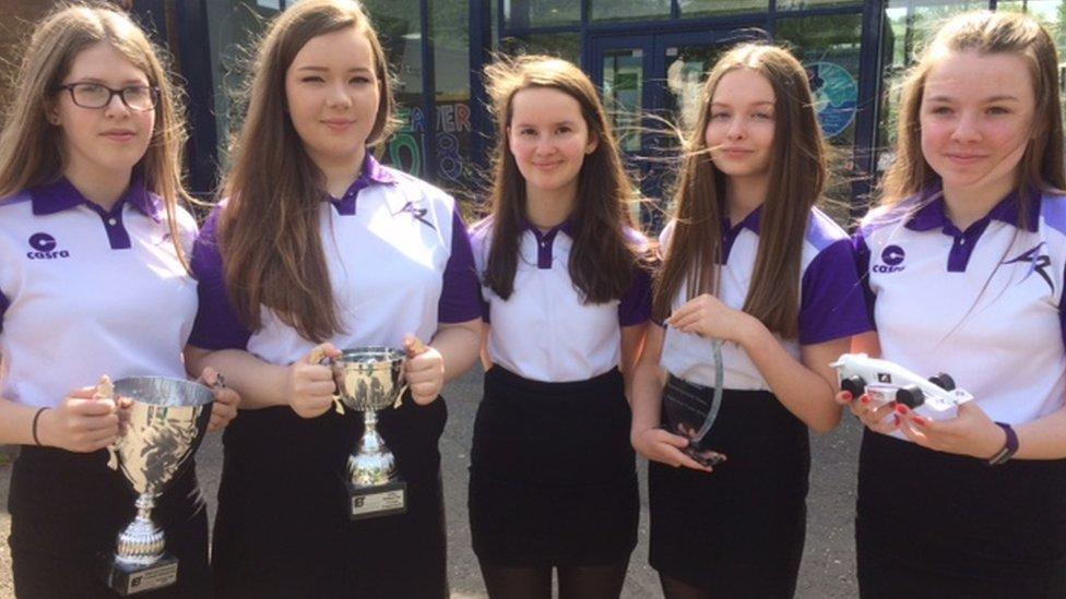 Linlithgow Academy pupils reach F1 car design finals