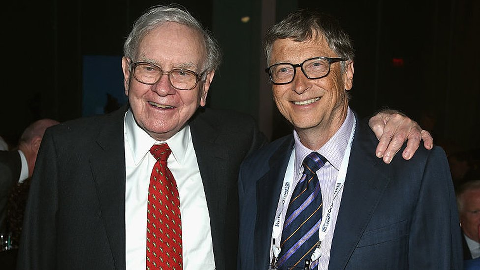 Warren Buffet y Bill Gates