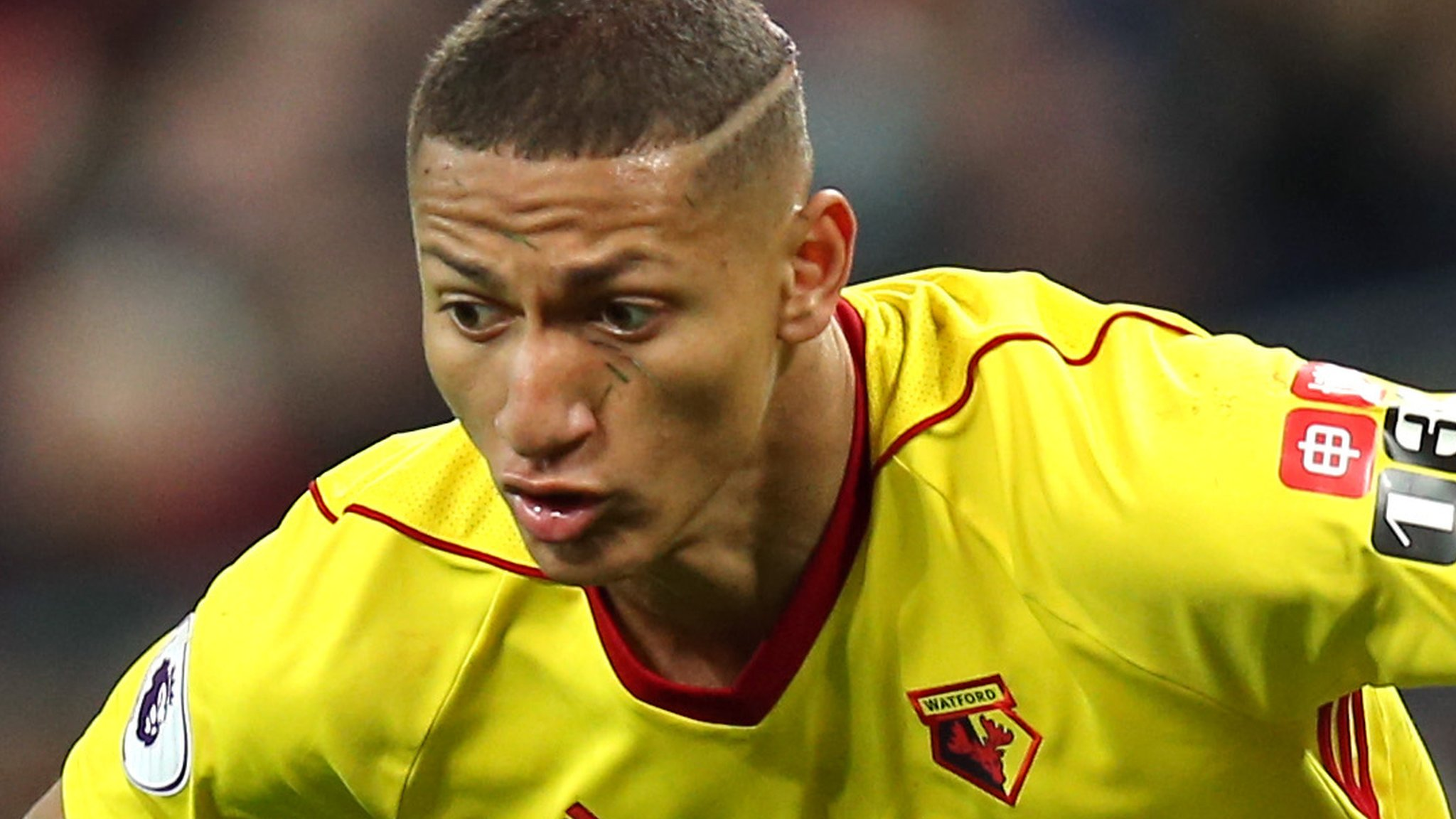 Richarlison has Everton medical before £50m move