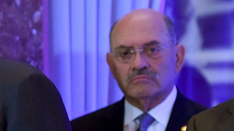 Allen Weisselberg, director financiero de la Organización Trump