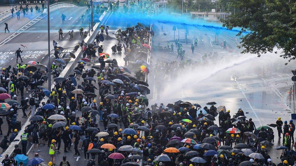 發生在香港的反政府抗議已持續3個月。