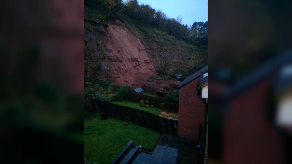 Mudslide in Mansfield