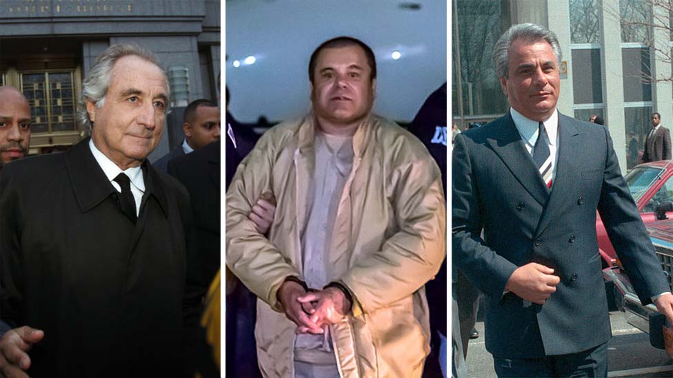 From left: Bernie Madoff, El Chapo and John Gotti have all spent time in the MCC