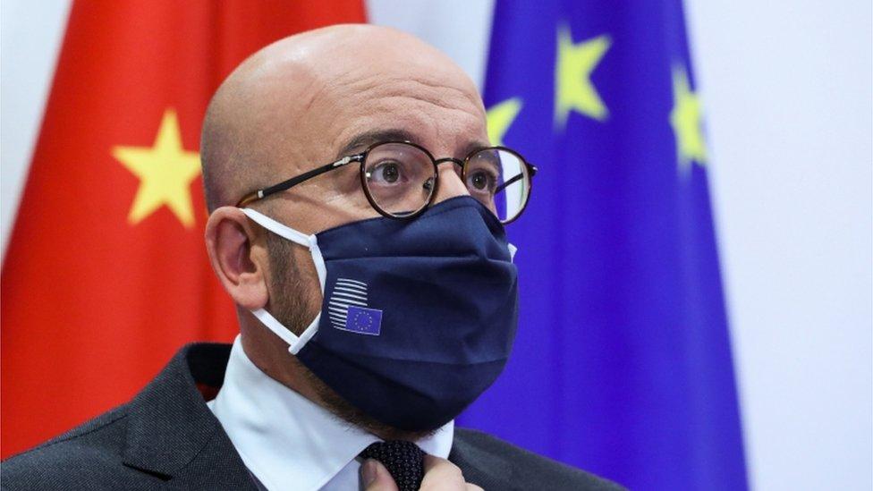 歐洲理事會主席米歇爾還要求習近平釋放中國關押的瑞典籍書商桂敏海。