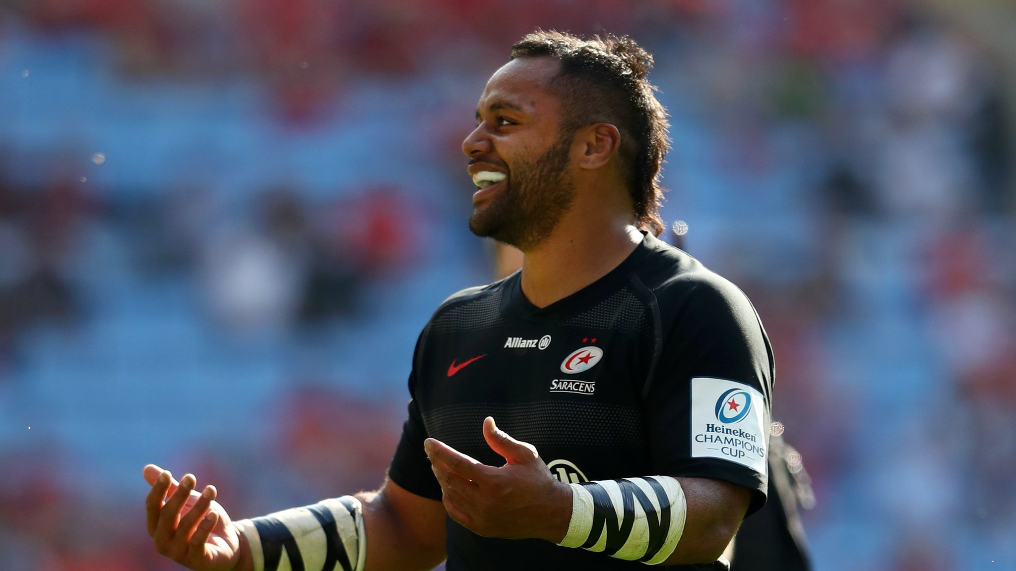 Vunipola booed and scores late try as Saracens power into final