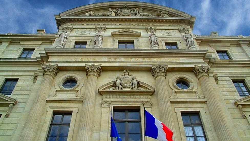 Exterior of France's court of appeal