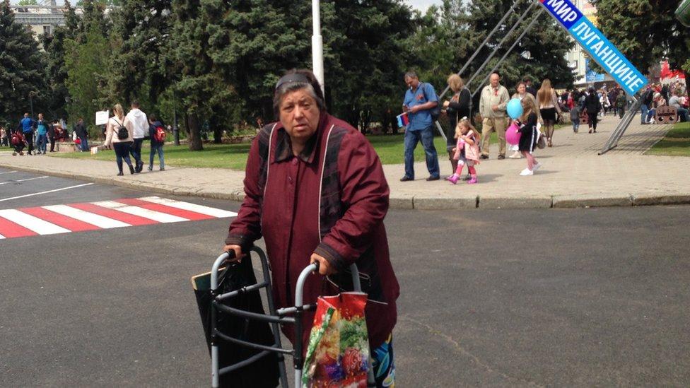 Блог з Луганська: піти за пенсією
