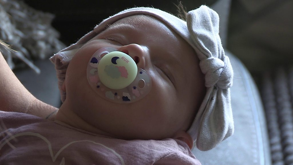 Baby's life saved by five-minute heart test
