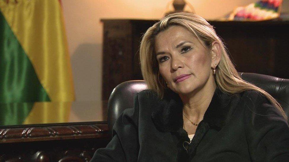 Jeanine Áñez.