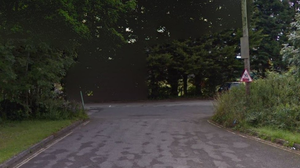 Car park at Lew Hill Memorial Ground