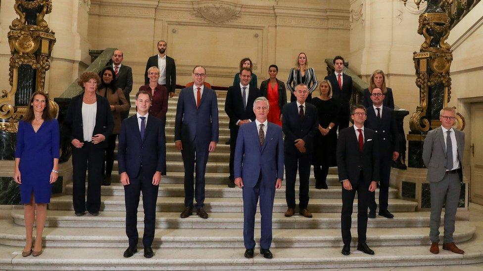 Nuevo gobierno de Bélgica