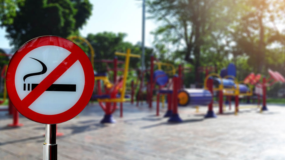 Smoking ban plan for playgrounds and hospital grounds