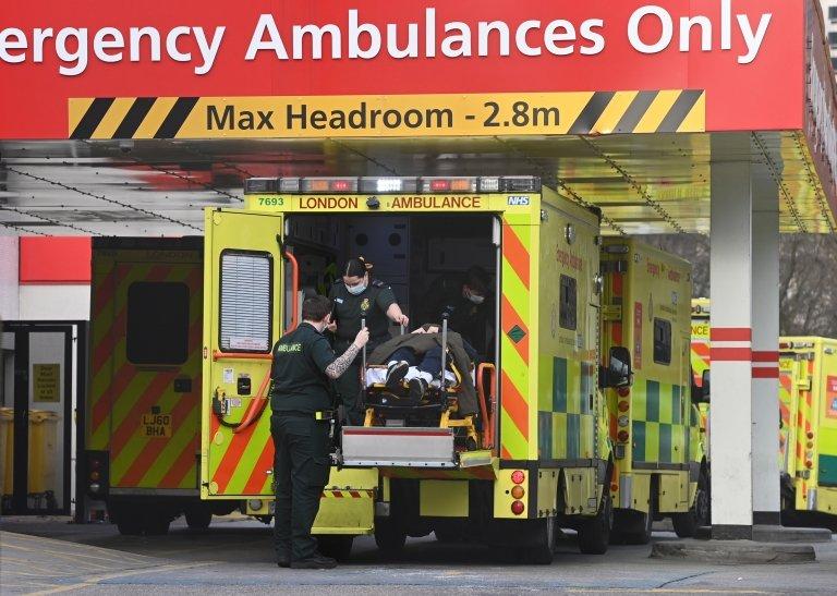 سيارات إسعاف في لندن