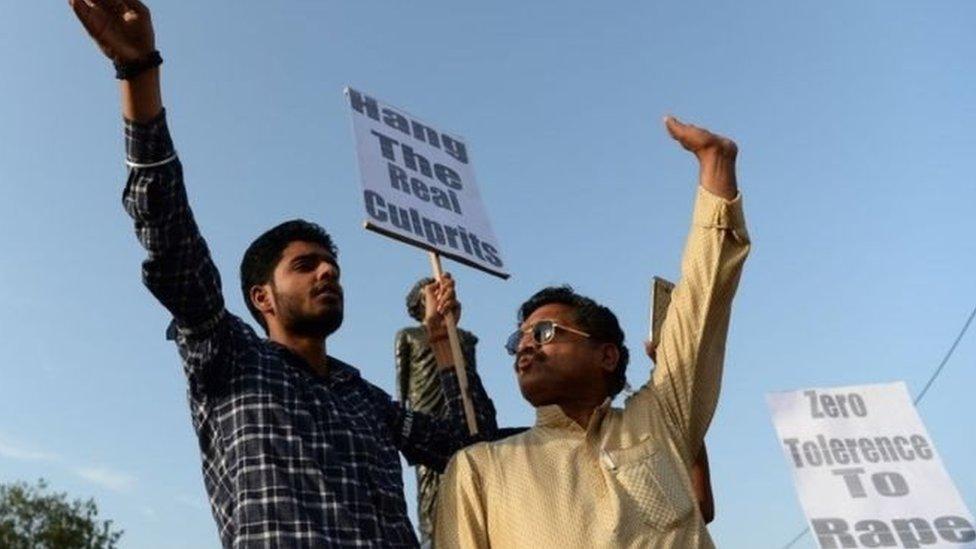 احتجاجات منددة بحوادث الاغتصاب في الهند