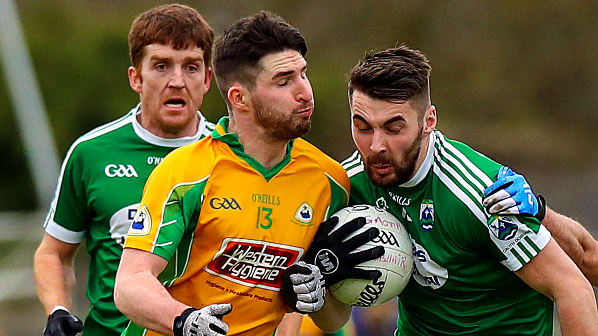 All-Ireland Club SFC semi-final: Corofin beat Gaoth Dobhair 2-13 to 1-12