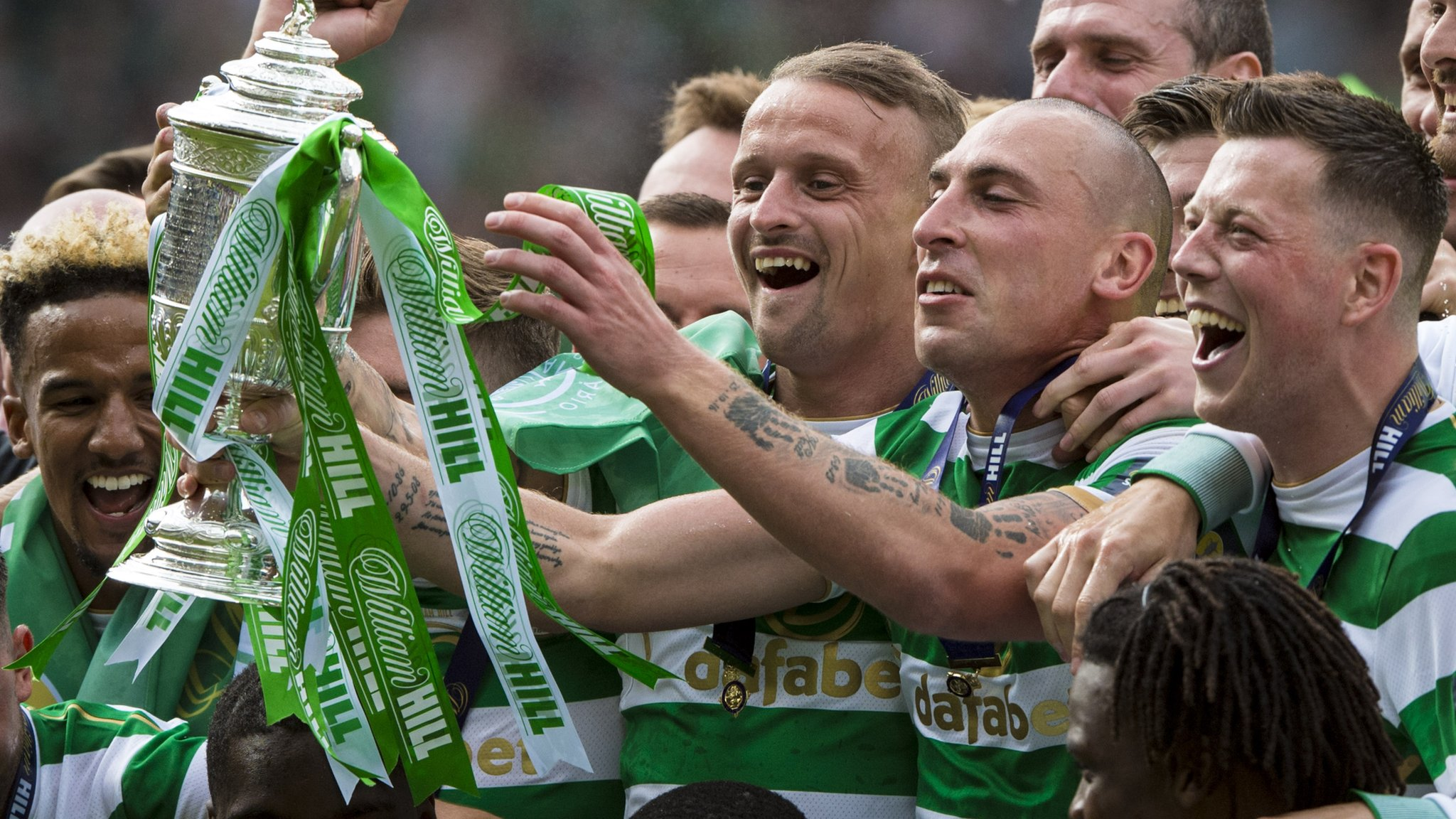 Treble winners Celtic can be better next season, says Rodgers