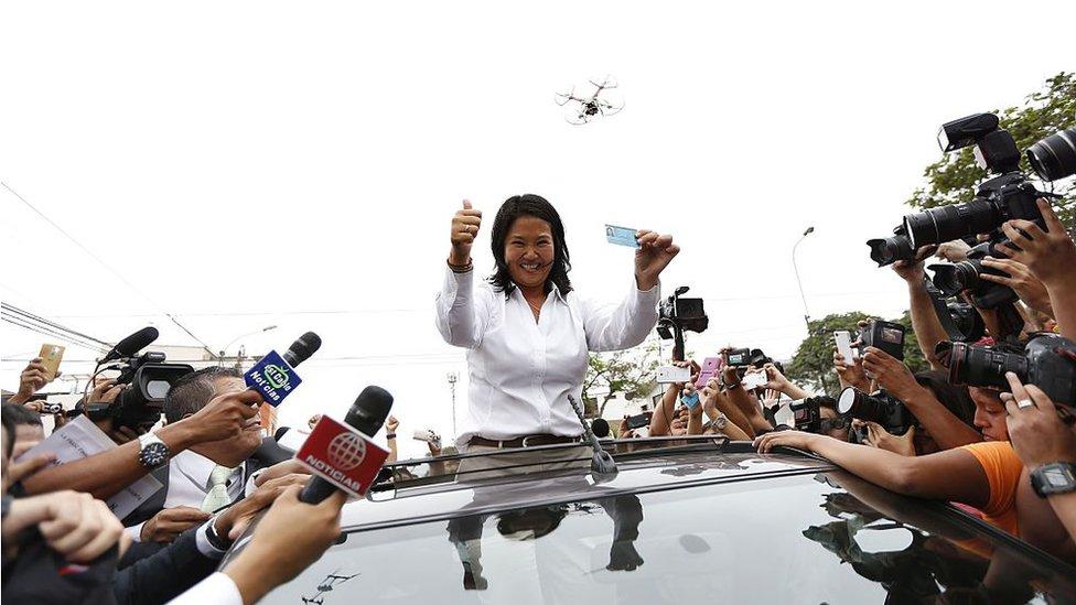 Fujimori el 10 de abril