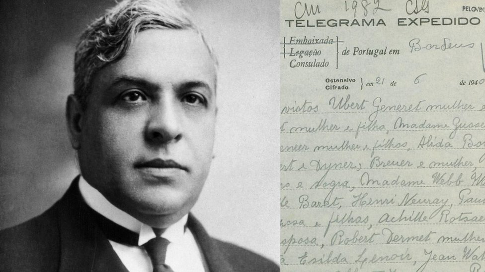 Aristides De Sousa Mendes i telegram portugalskog diktatora Salazara