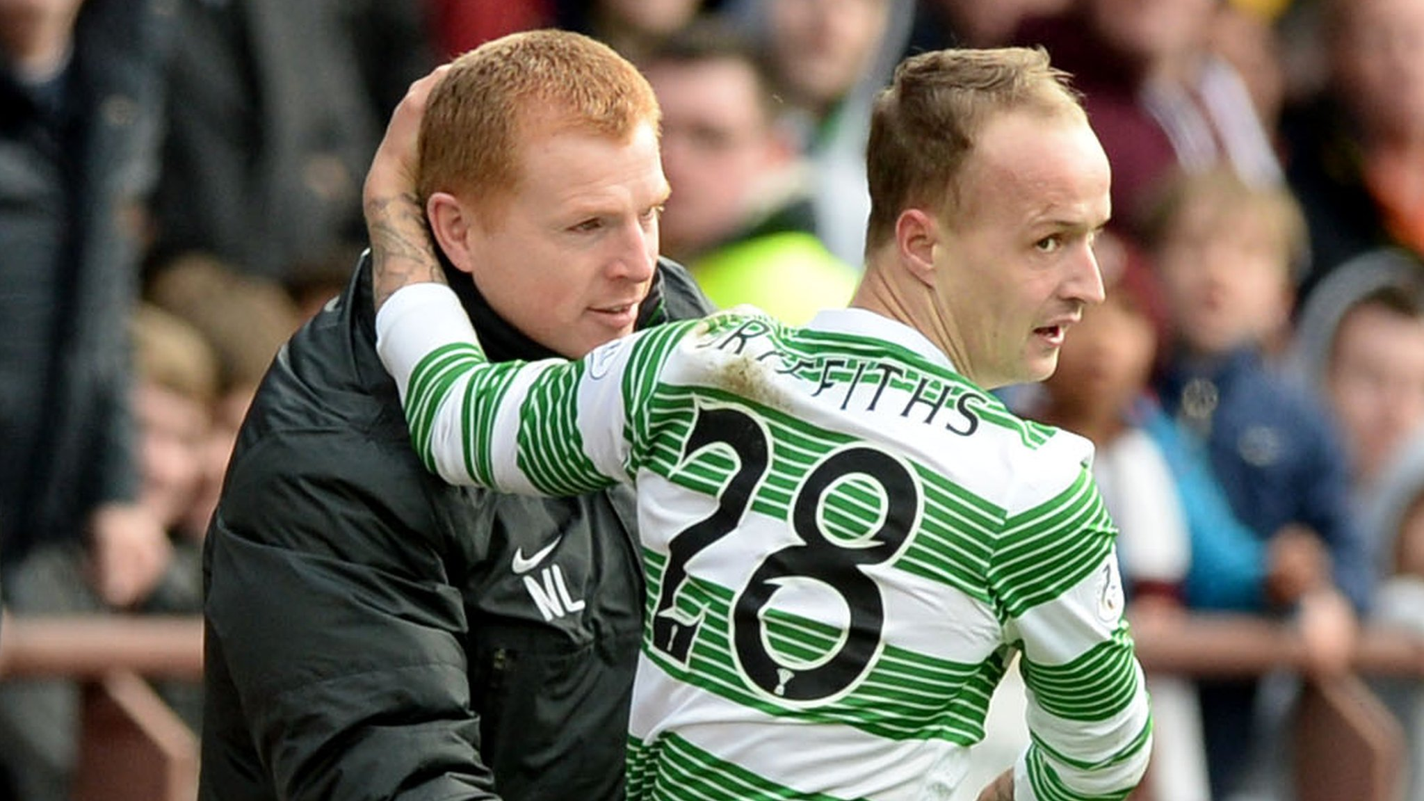 Leigh Griffiths: Neil Lennon happy to talk to Celtic striker about his personal issues