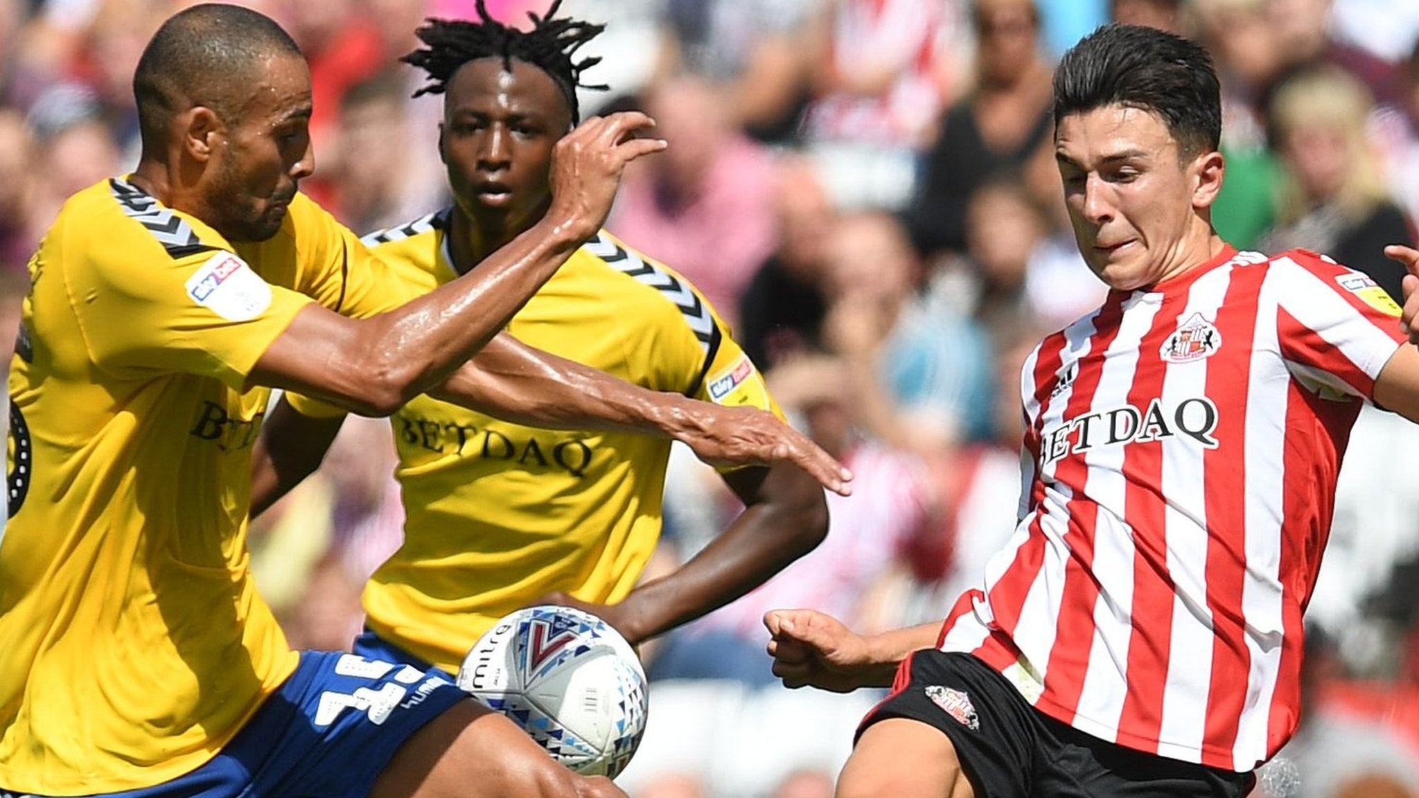 League One play-off final: Charlton Athletic v Sunderland