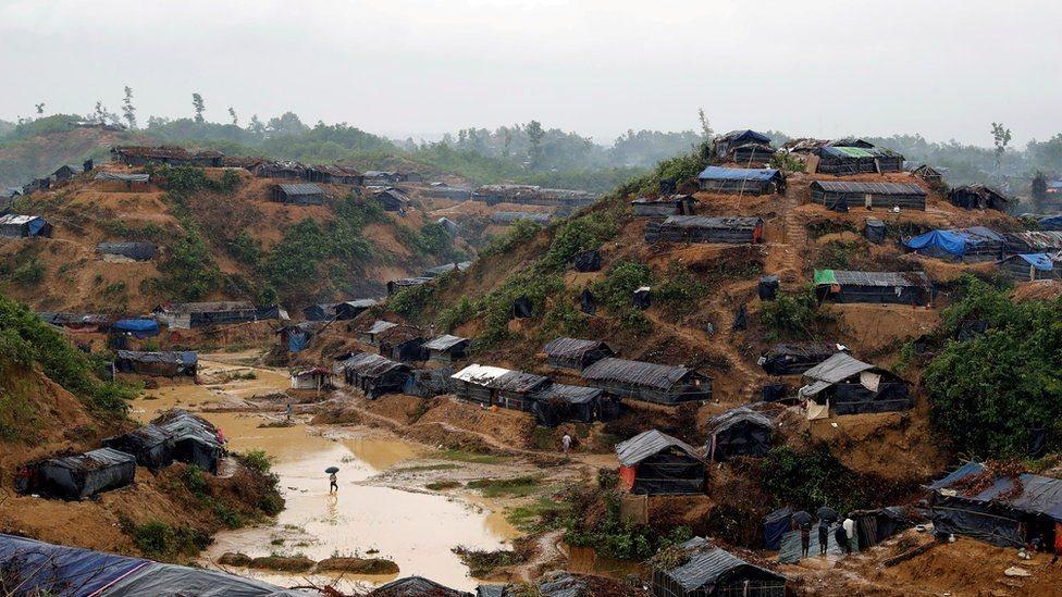 مخيمات اللاجئين الروهينغا