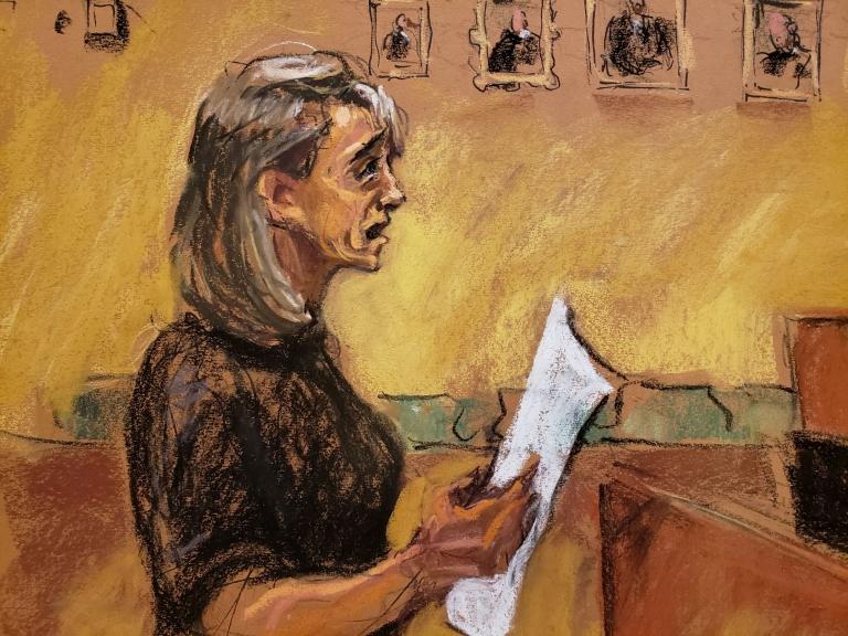 Ilustración de la actriz Allison Mack