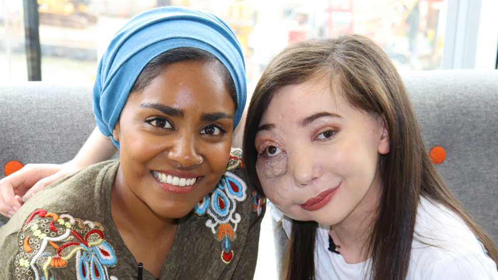 Nadiya Hussain and Nikki Lilly