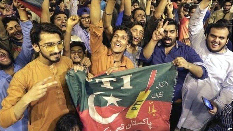 पाकिस्तान, पीटीआई के समर्थक