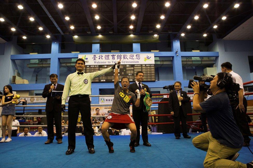 Huang proslavlja trijumf