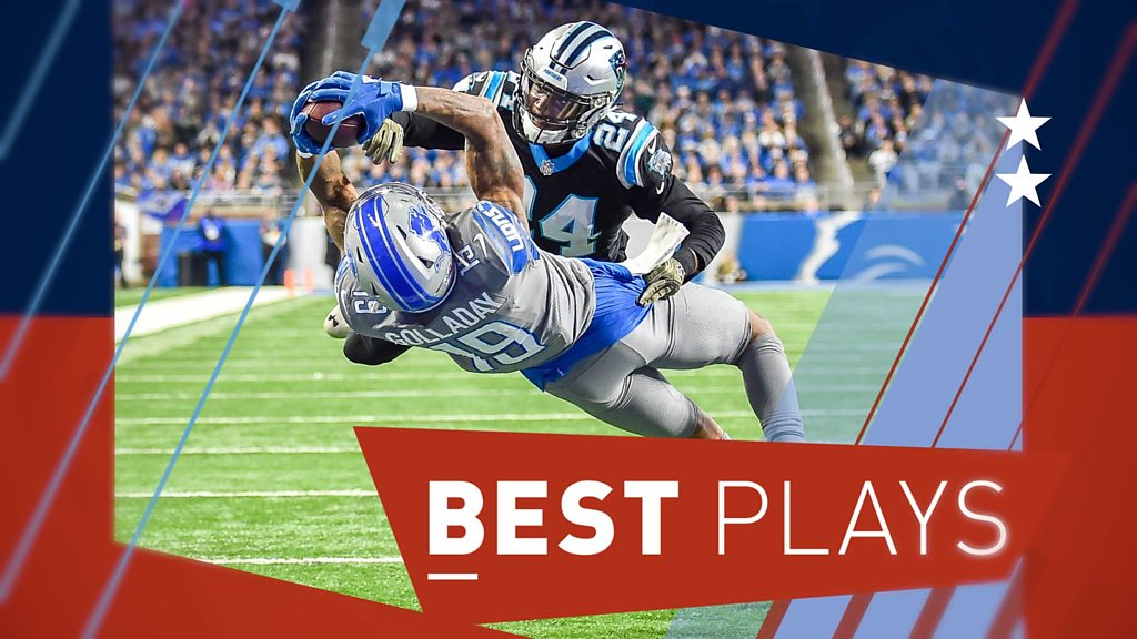 NFL plays of the week: 'Phenomenal' Golladay & Hilton's fancy footwork