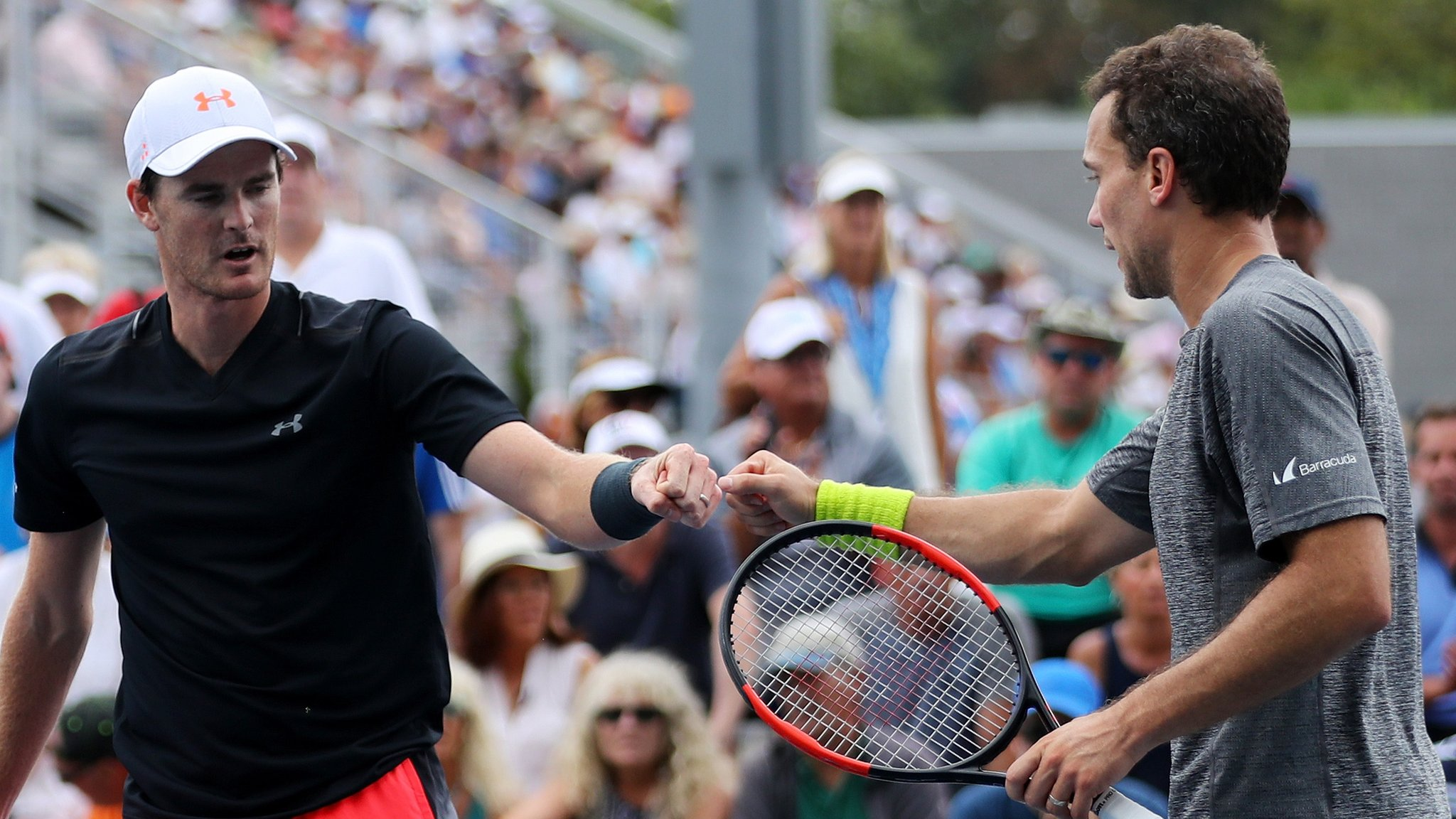 Murray & Soares win Washington doubles final