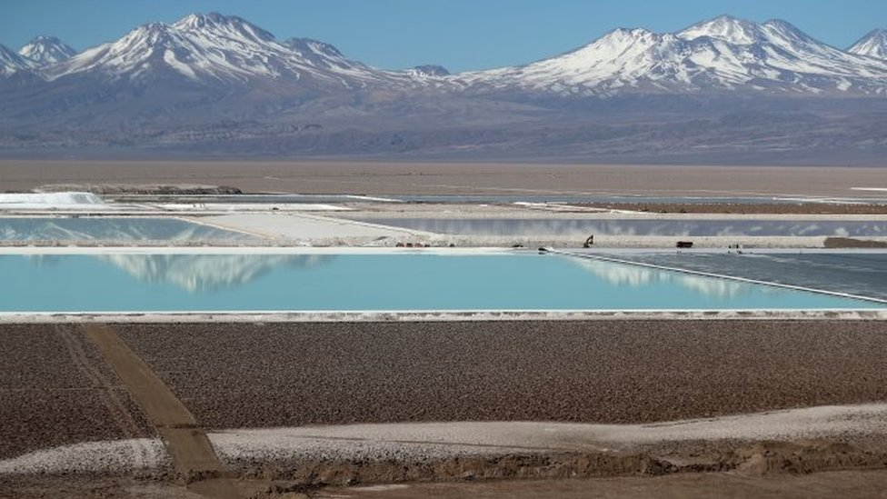 Minas en Chile