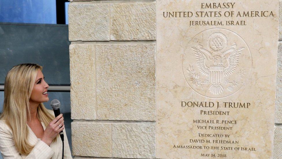 Ivanka Tramp na otvaranju ambasade u Jerusalimu