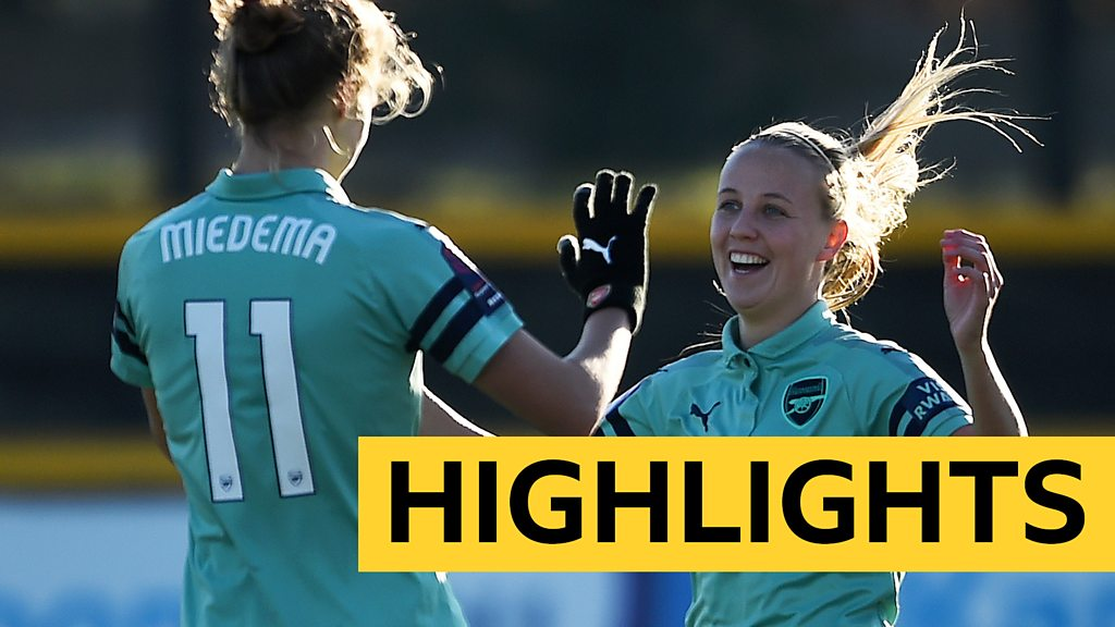 WSL Highlights: Everton Ladies 0-4 Arsenal Women