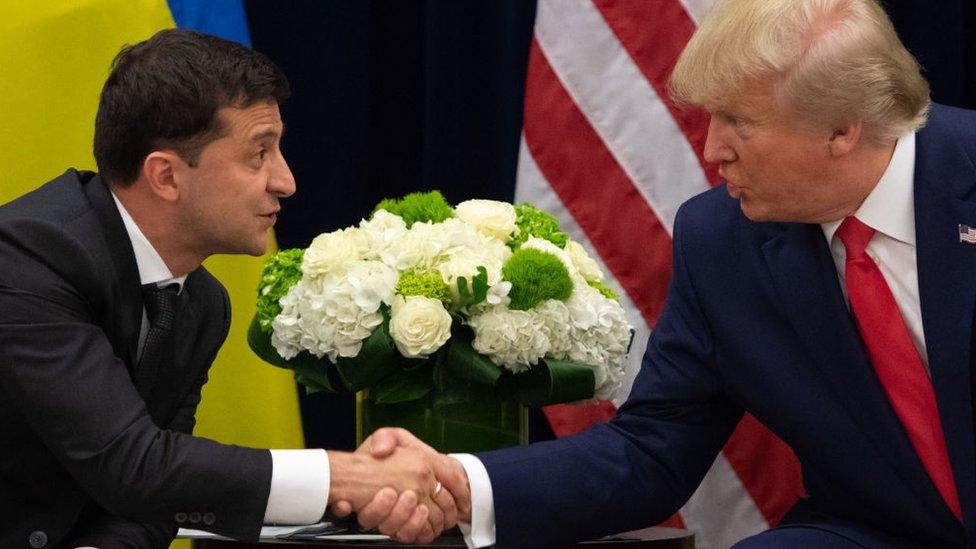 Tras la llamada telefónica del 25 de julio, las relaciones entre la Casa Blanca y Ucrania se han convertido en un tema de fuerte debate en la política estadounidense.