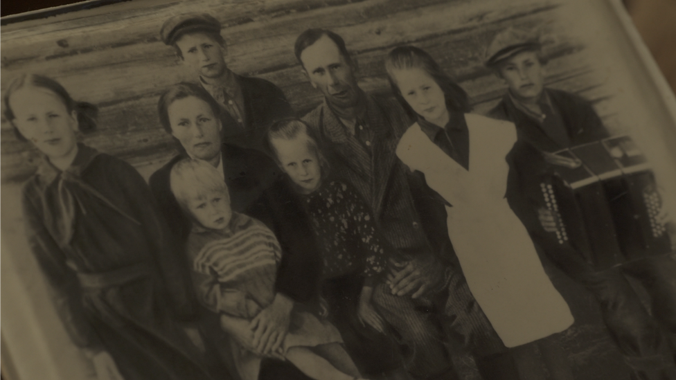 La familia de Smirnov