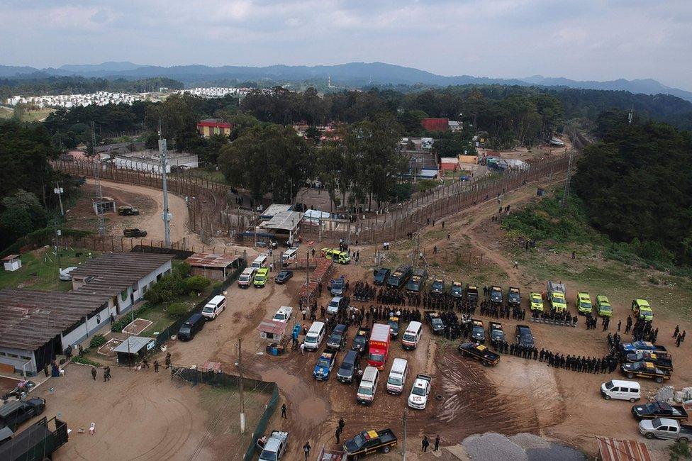 La Granja de Rehabilitación Pavón se encuentra a unos 25 kilómetros de Ciudad de Guatemala.