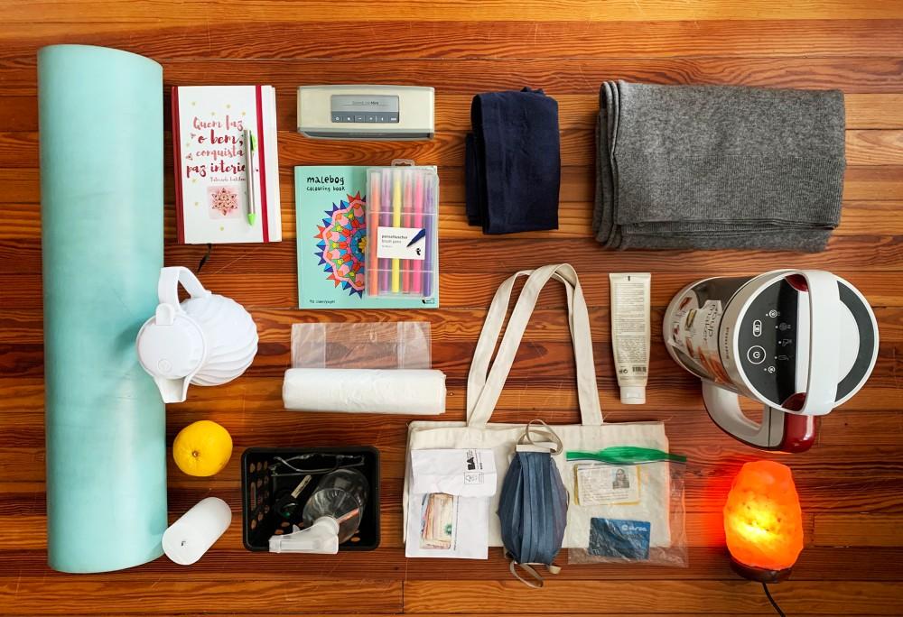 Lockdown essentials by Silvana Ovsejevich, Argentina