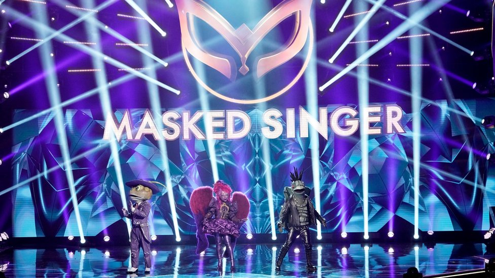 The finale of Season 3 of the American version of The Masked Singer