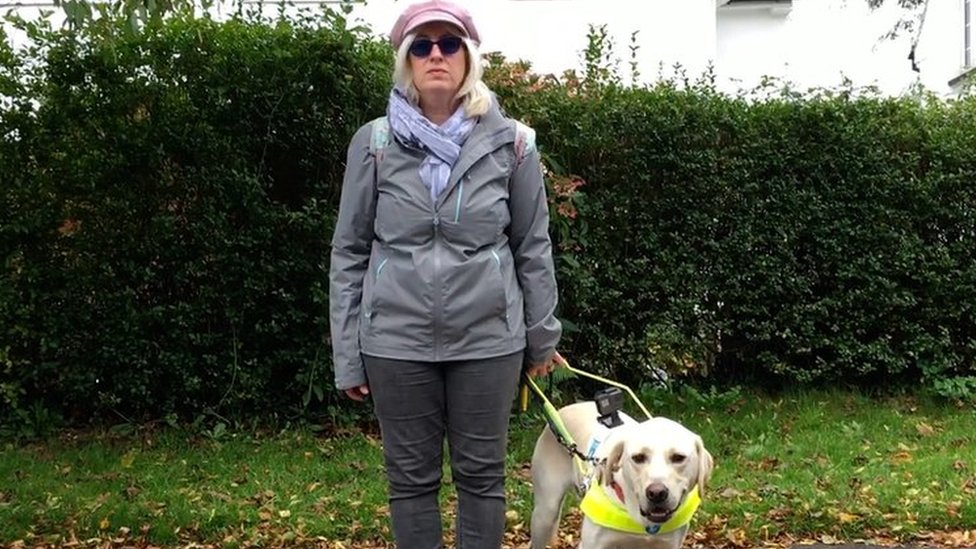 Plea to park safely to help guide dogs and their owners