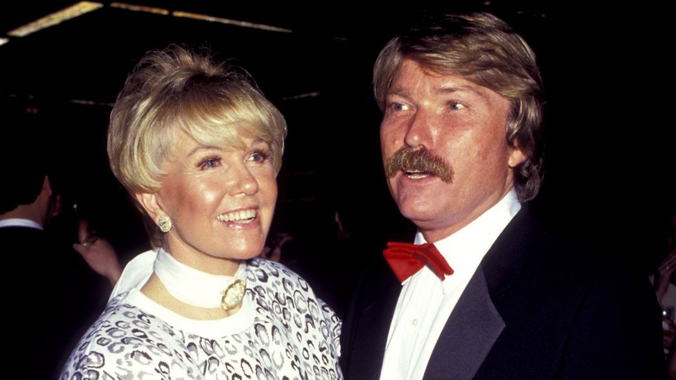 Doris Day and her son Terry Melcher