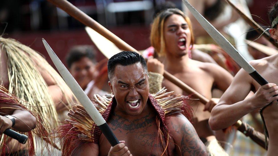 Maori Powhiri ceremony