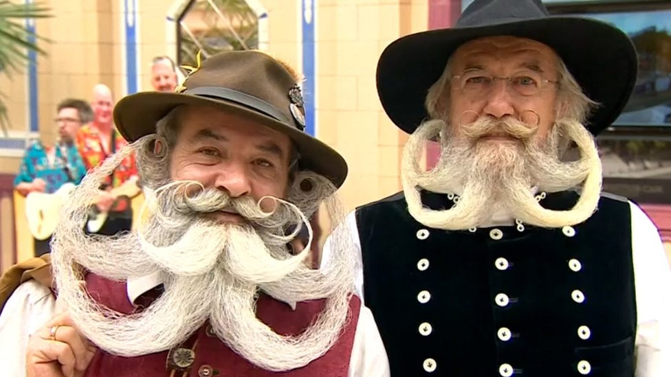 Beards galore at British championships