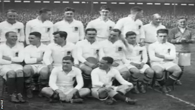 England rugby team 1928