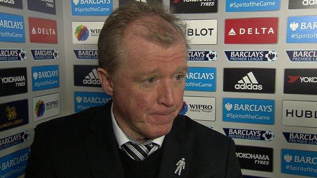 Newcastle manager Steve McClaren
