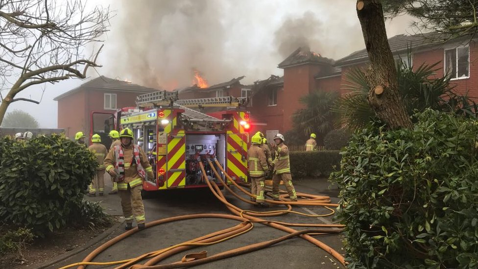Cheshunt care home fire