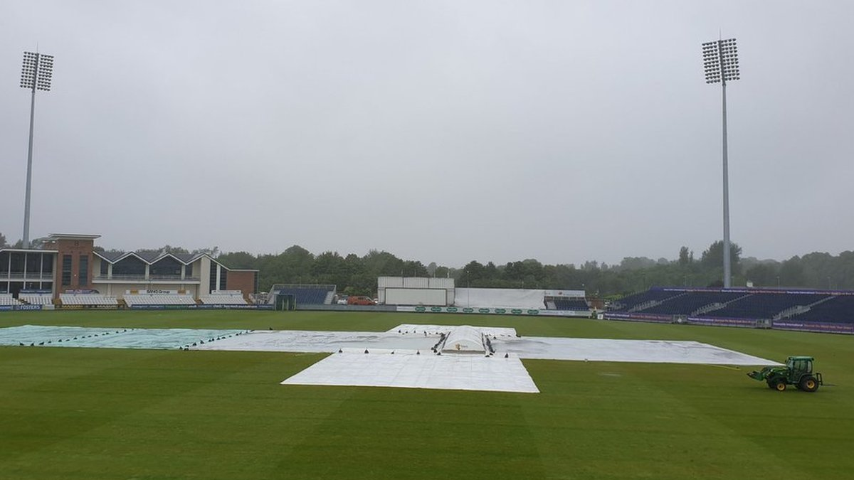 County Championship: Durham v Northamptonshire a draw after more rain