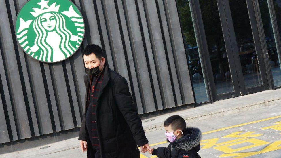 Tienda Starbucks en China