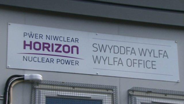 Wylfa Newydd sign