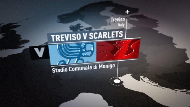 Pro12 Highlights: Treviso 6-22 Scarlets